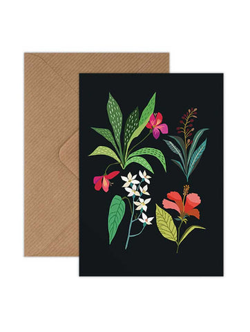 Tropical Study Greeting Card