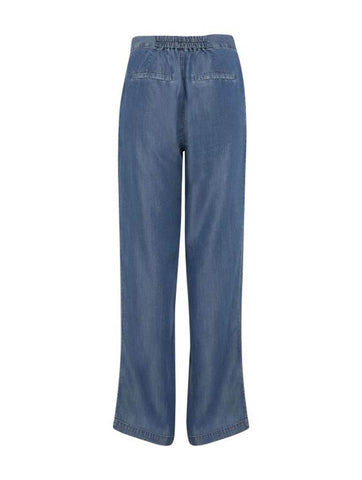 Anli Mid Blue Trousers
