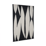 Abstract Wall Chart Black And White
