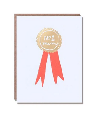 Mum Ribbon Greeting Card