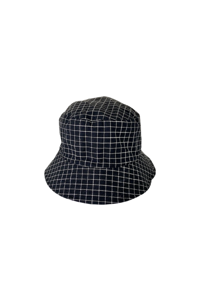 Aria Reversible Bucket Hat Black And White Check