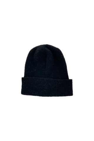 Carol Knitted Hat Black