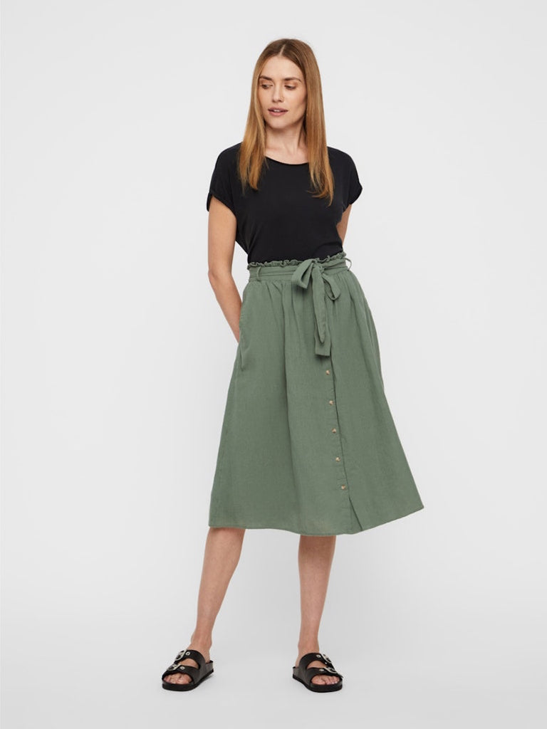 Sammi High Waist Skirt Laurel Wreath