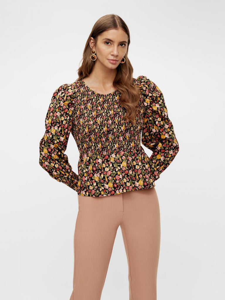 Rosalia Long Sleeve Smock Top