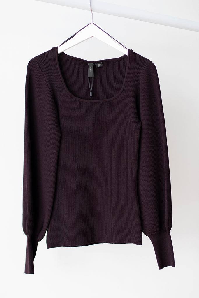 Selena Knit Sweater Fudge