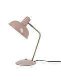 Table Lamp Hood Matt Pink