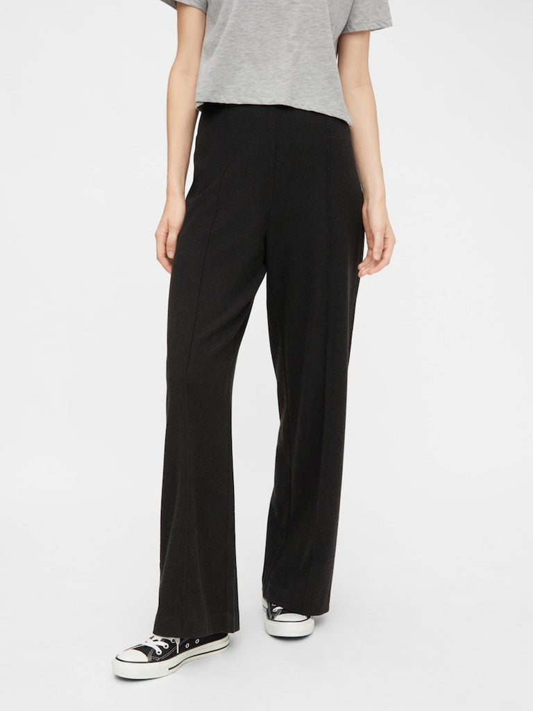 Riola Soft Wide Pants Dark Grey