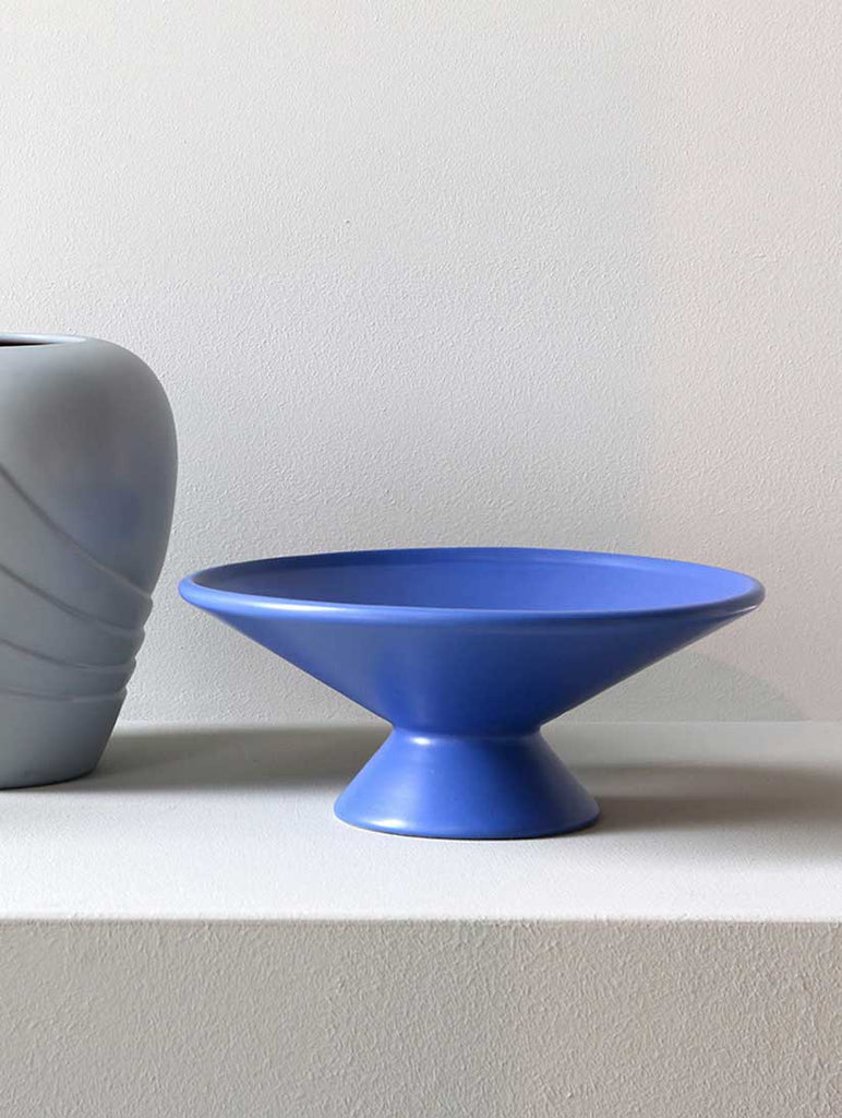Fruit Bowl Matt Cobalt Blue