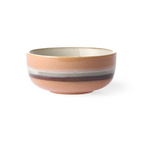Ceramic 70's Bowl Medium Stream