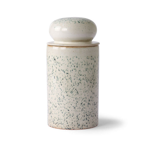 Ceramic 70's Storage Jar Hail