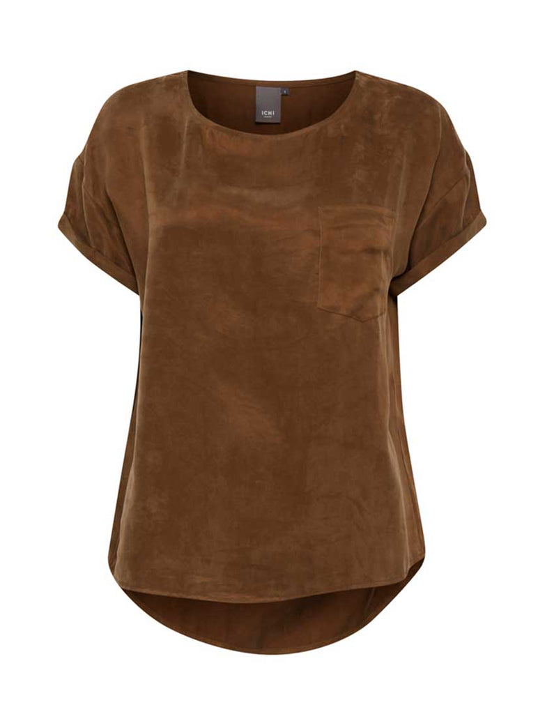 Adana Short Sleeve Top Chocolate Lab