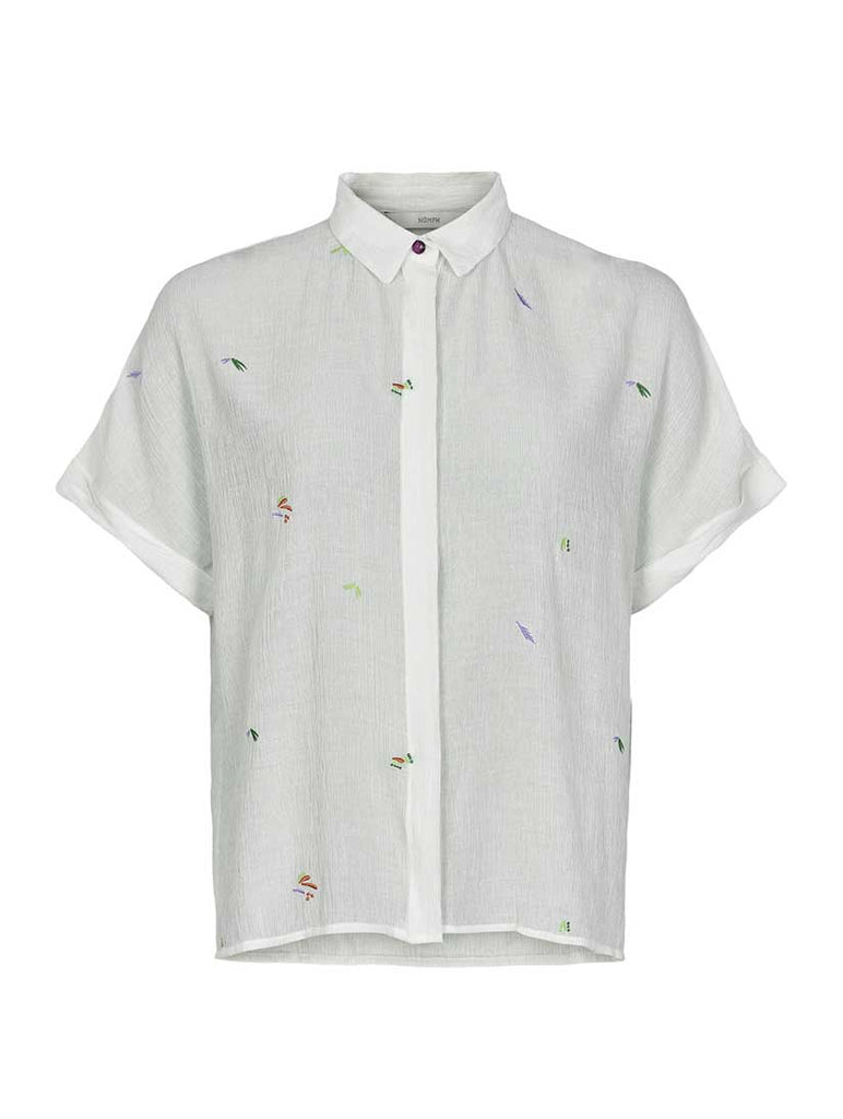 Alayna Jocelynn Shirt Bright White