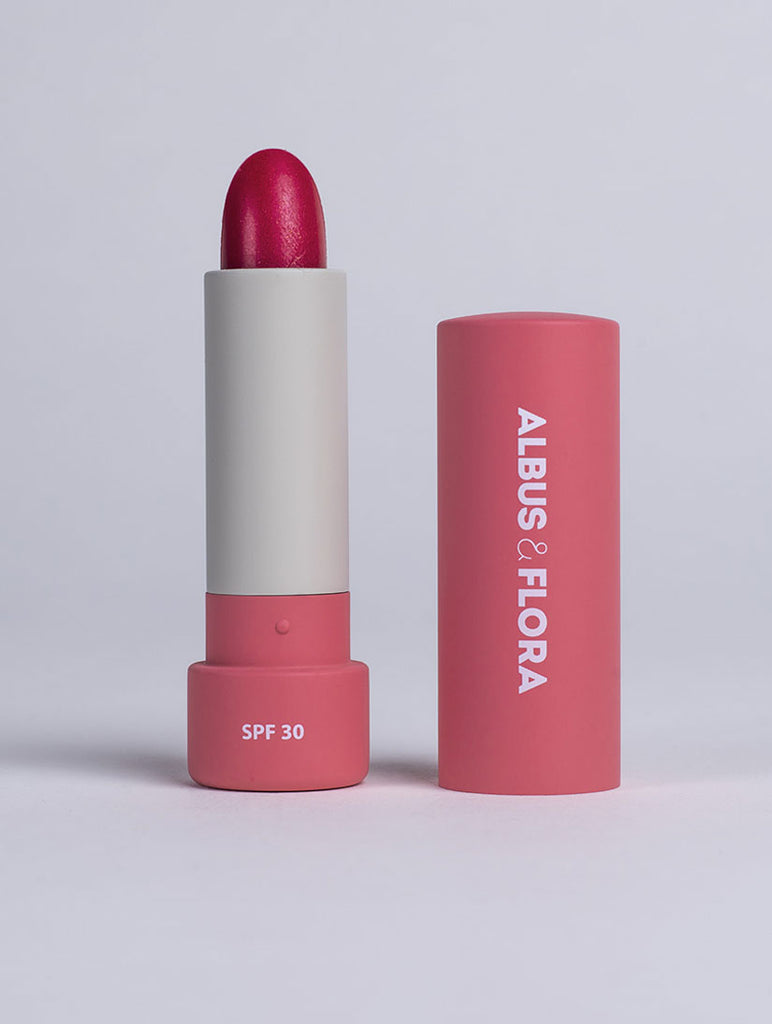 Multi-Active Tinted Lip Balm- Snowberry Red