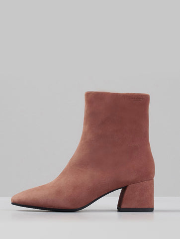 Alice Suede Boots Terracotta