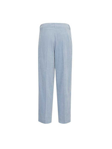 Amanda Corduroy Faded Denim Pants