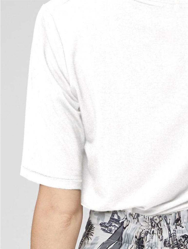Bamboo Base Layer Tee White