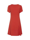 Beech Dress Aurora Red