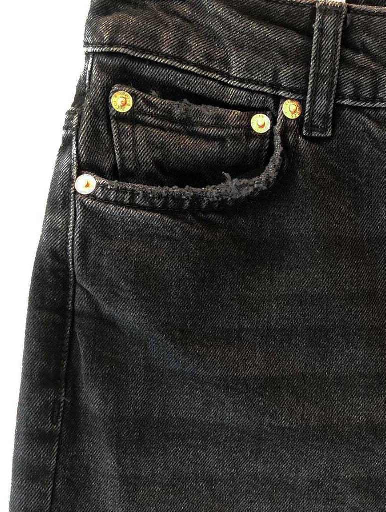 Nima Straight Leg Jeans Black Denim