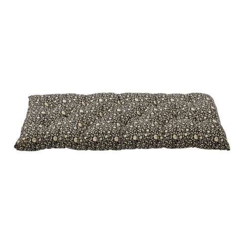 Cushion Black Cotton