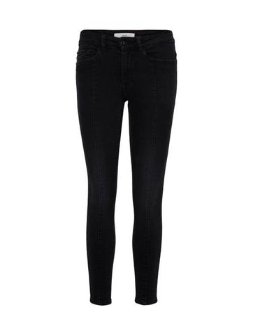 Erin Slim Romelo Washed Black Jeans