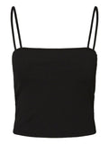 Mille Crop Top Black