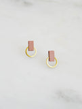 Orbit Studs Blush