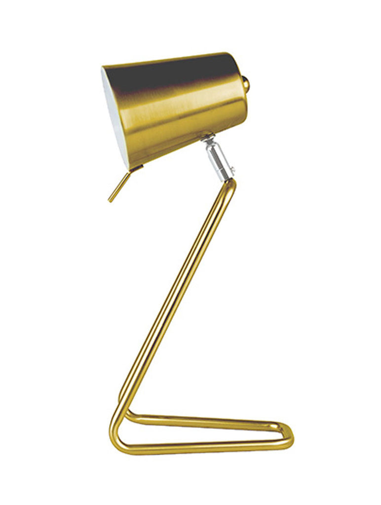 Table Lamp Z Brass