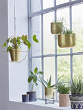 Hanging Planter Brass