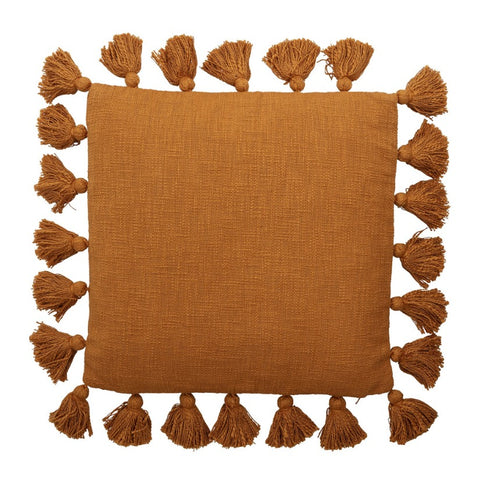 Cushion Brown Cotton