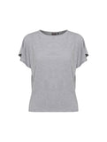 Camera T-shirt Grey Melange