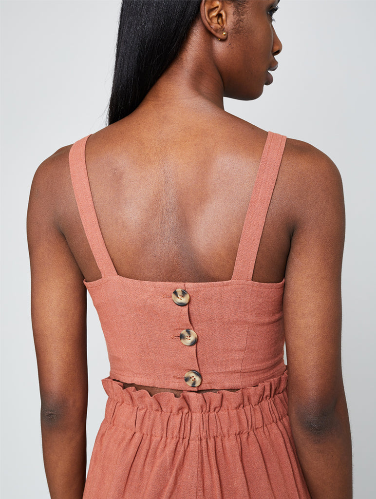 Knowles Cami Terracotta