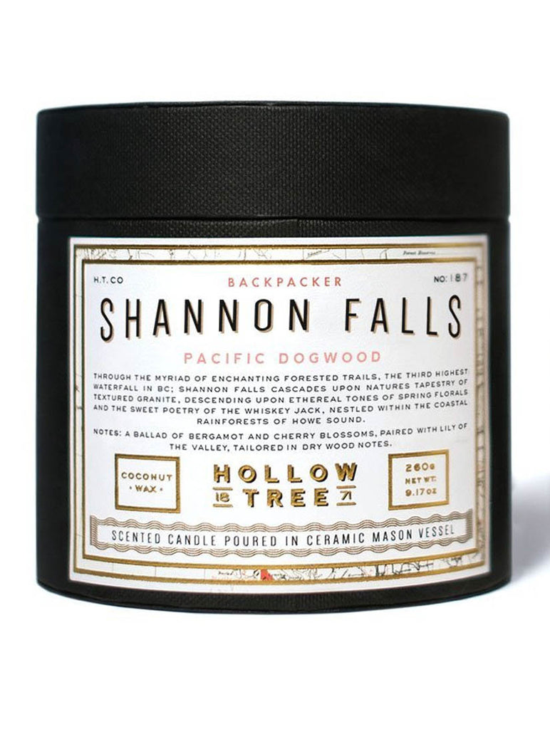 Hollow Tree Candles - Shannon Falls
