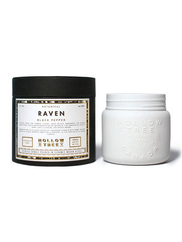 Hollow Tree Candles - Raven