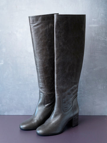 Jude Vintage Tall Boot Grey