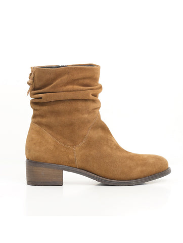 Reilly Slouch Ankle Boot Cognac