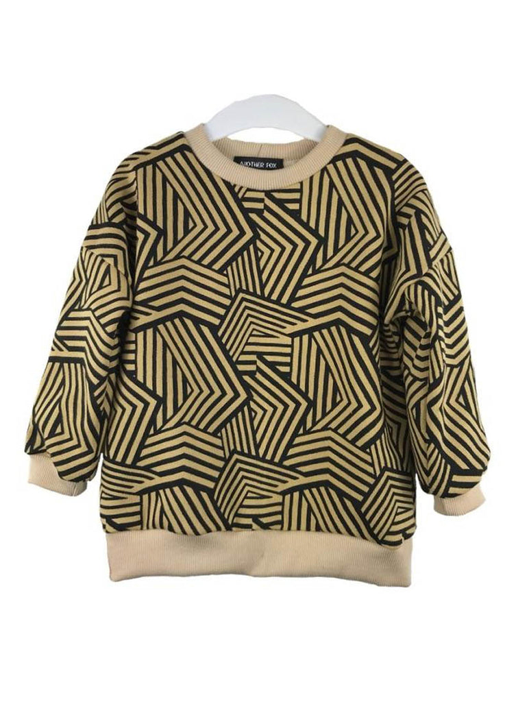 Caspian Abstract Print Sweat