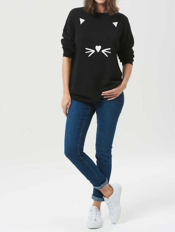 Shona Oversized Feline Sweater