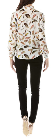 Catrina Feather Shirt