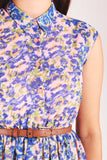 floral pastel watercolour print dress Sugarhill Boutique