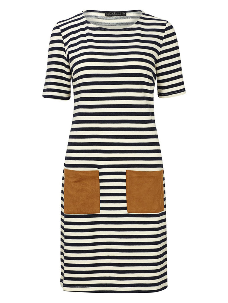 Cheryl Stripe Tunic Dress
