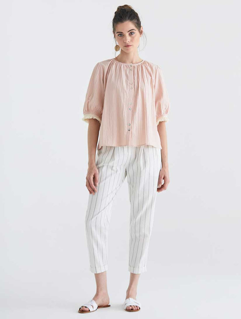 Chesil Blouse Light Pink