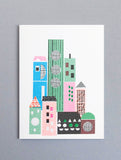 Cityscape Mini Card