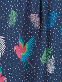 Coco Paradise Parrot Shirt Navy