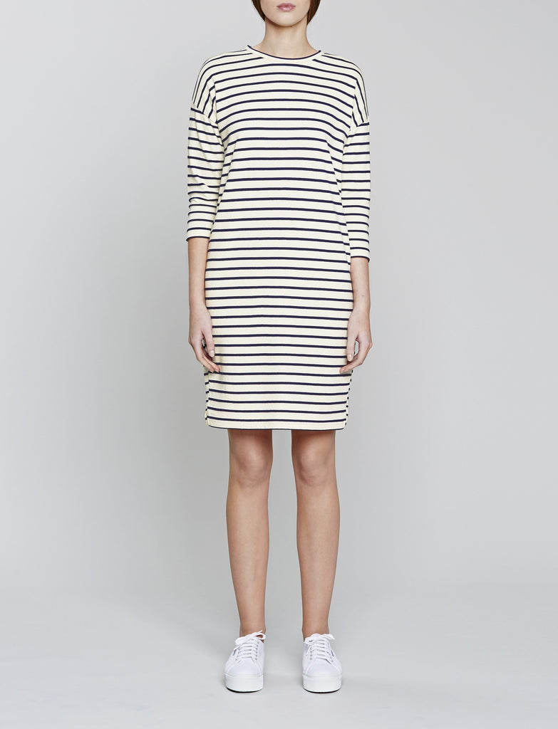 Cocoon Breton Stripe Dress
