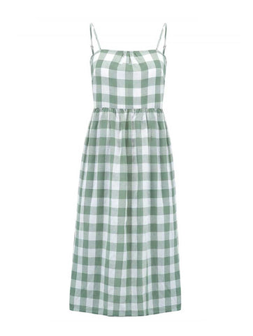 Collette Gingham Sundress