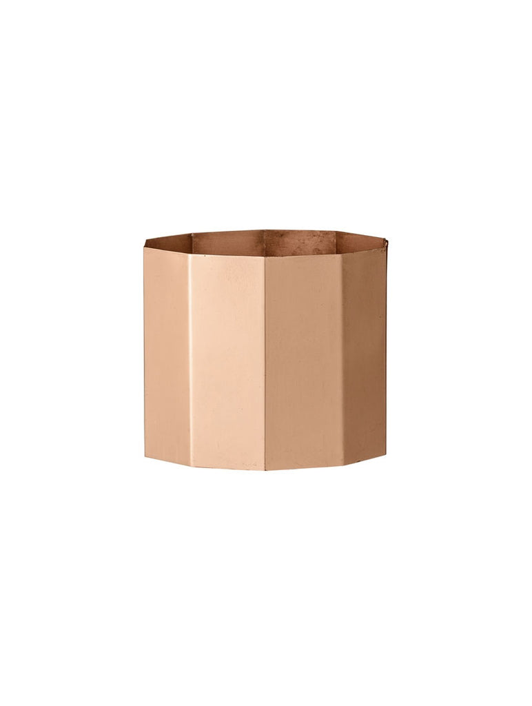 Copper Octagonal Votive