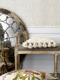 Natural Cushion with Tassels