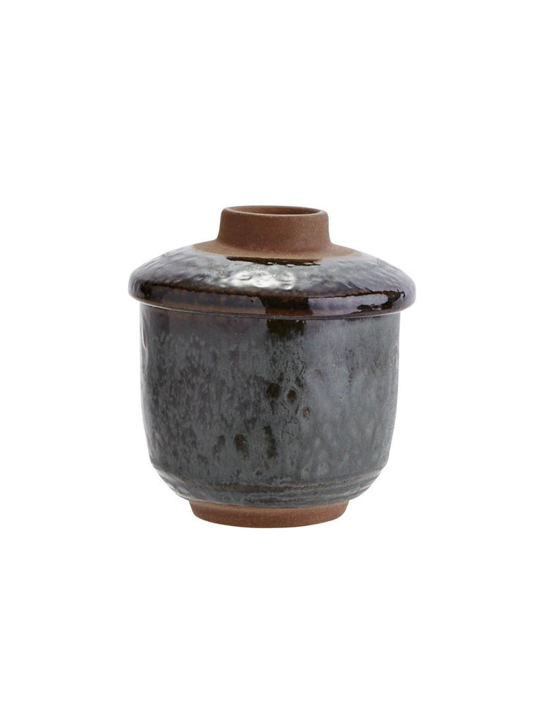 Stoneware Soup Cup With Lid