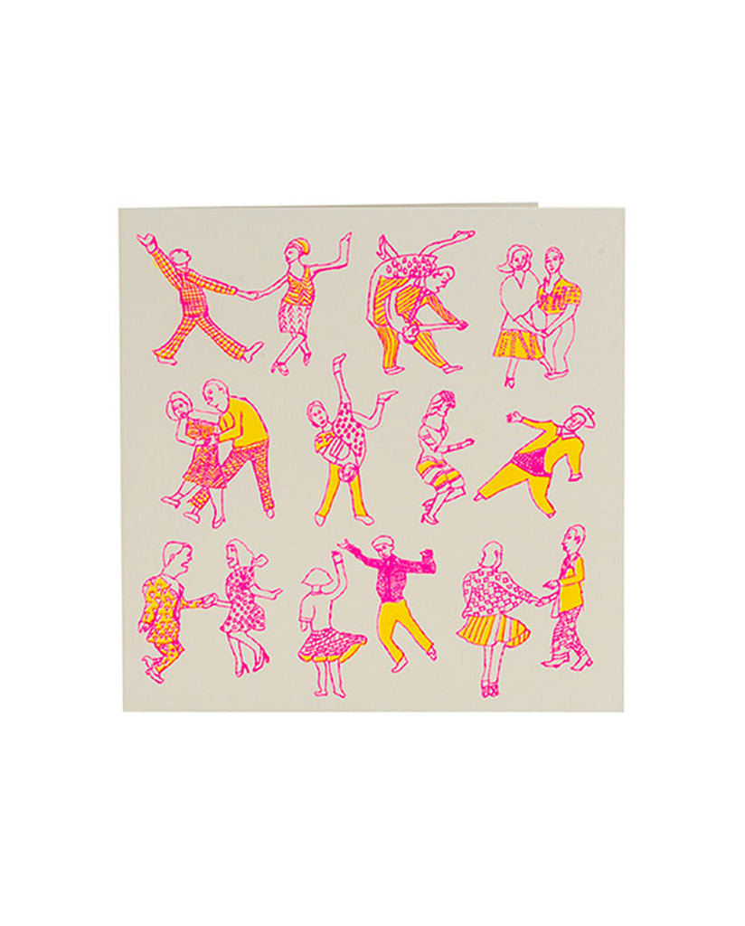 Handprinted Card Dancers