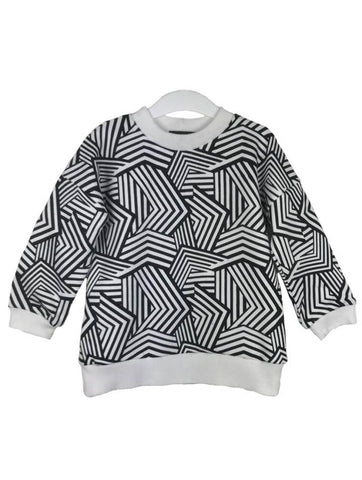 Delphine Abstract Print Sweat